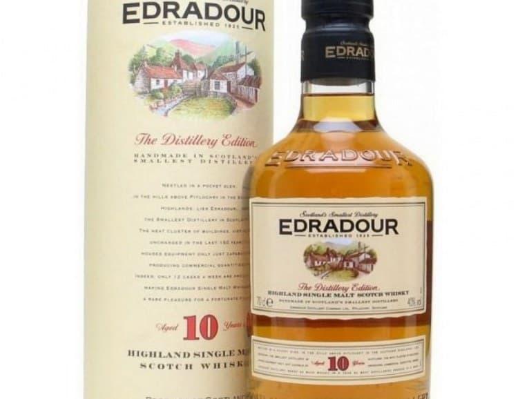 Виски Edradour 10 лет выдержки является достойным представителем марки.