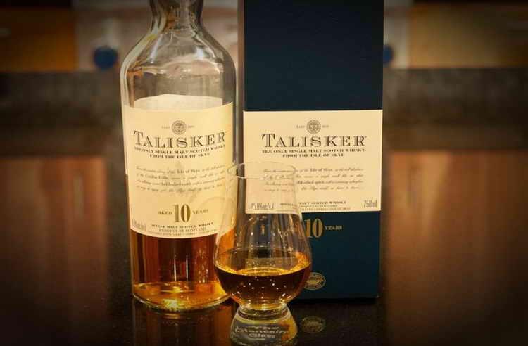 виски талискер 10 лет