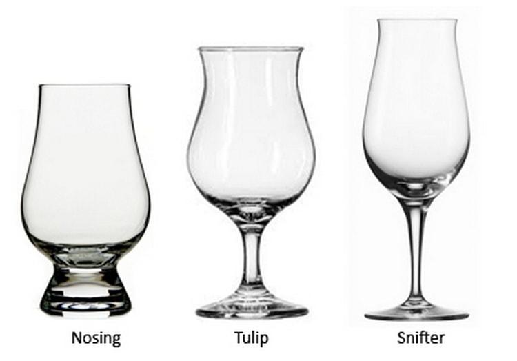 Вот такие бокалы лучше сего брать для дегустации виски из Канады.