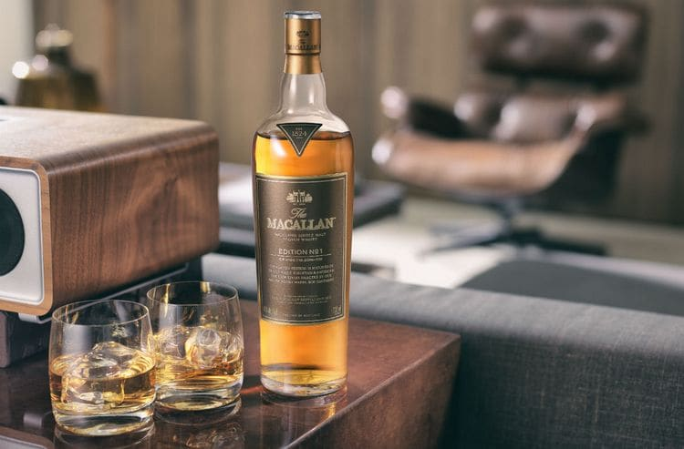 Виски Макаллан принадлежит к категории дорогих напитков.
