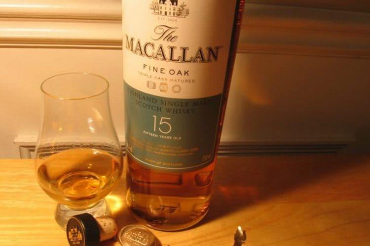 Очень важно правильно подать виски Macallan.