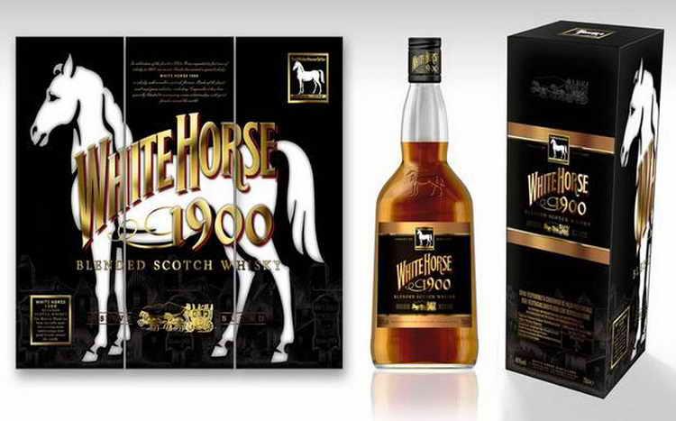 как пить виски white horse