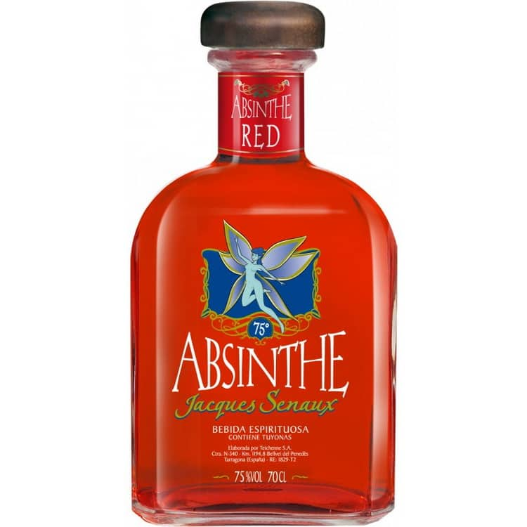 Красный абсент jacques senaux