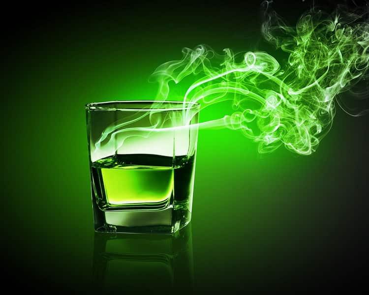 Как пить абсент фея