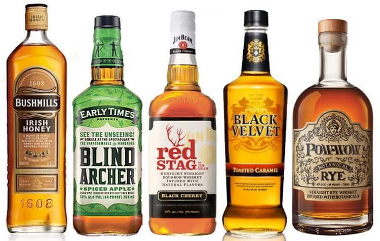 как подавать американский виски