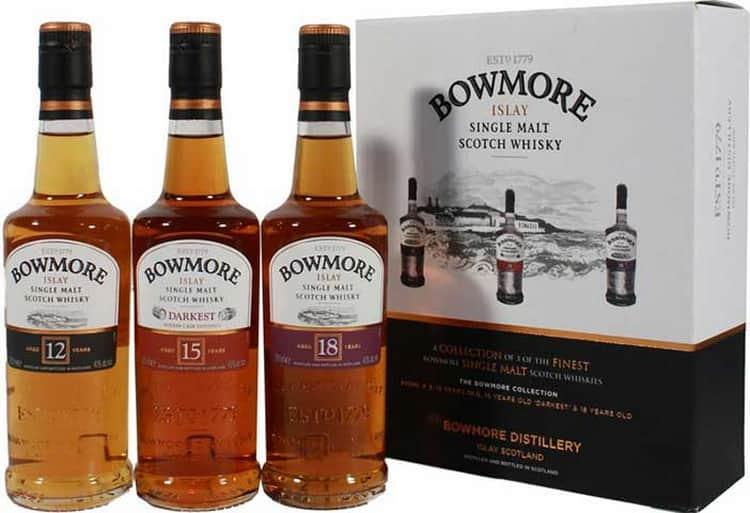 Виды виски и подробно о виски bowmore legend