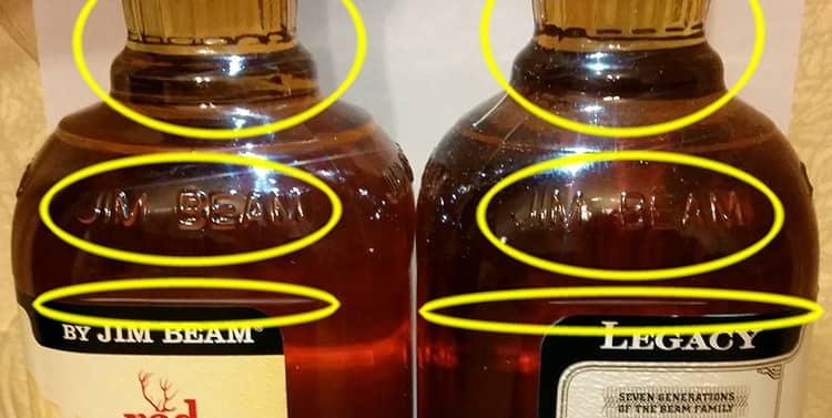 Как отлечить jim beam double oak от подделки