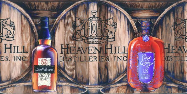 Обзор виски Heaven Hill Distilleries