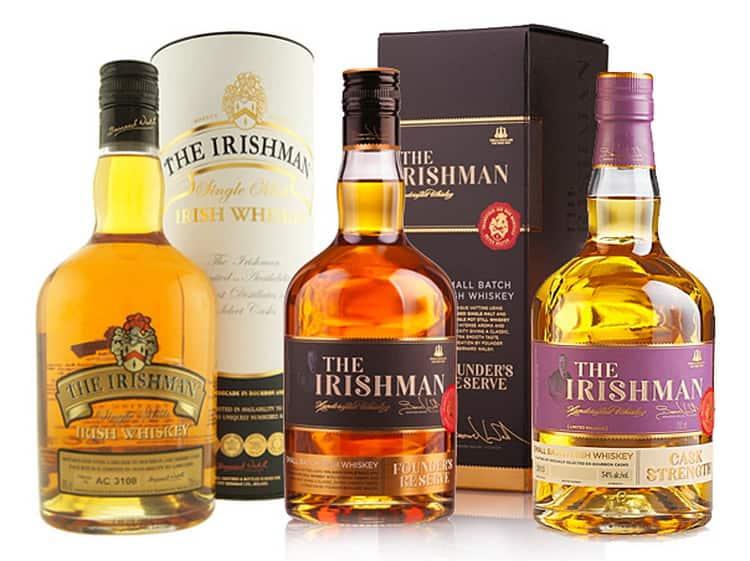 Виды айришмен виски