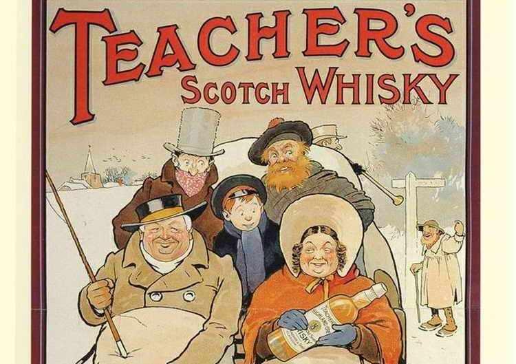 история виски тичерс