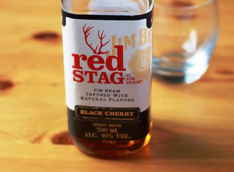 Как подавать jim beam red stag