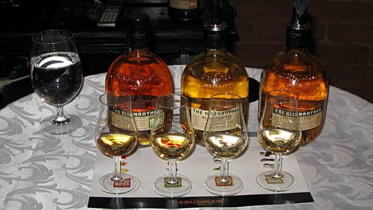 как правильно подавать виски гленротс винтаж резерв