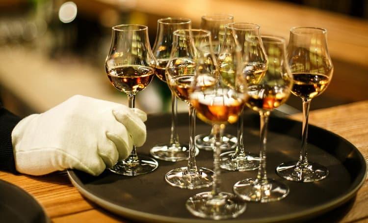 В чем подавать виски хевен хилл