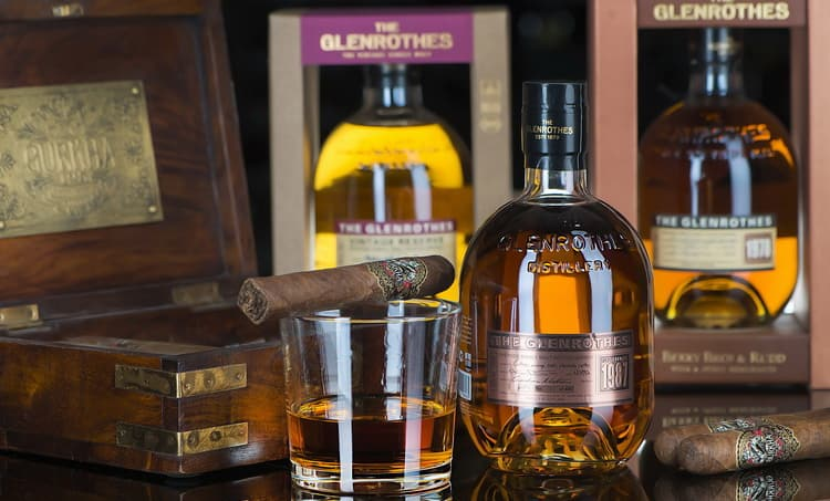 дегустационные характеристики виски glenrothes