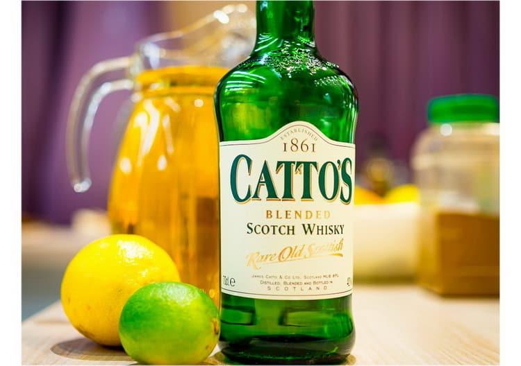 какие можно делать коктейли из виски катто с