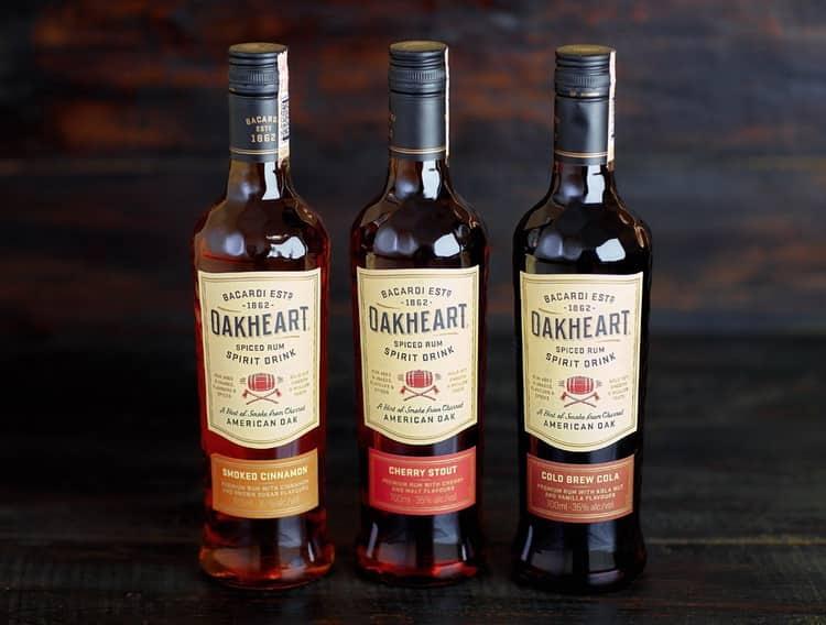 С чем пить oakheart bacardi