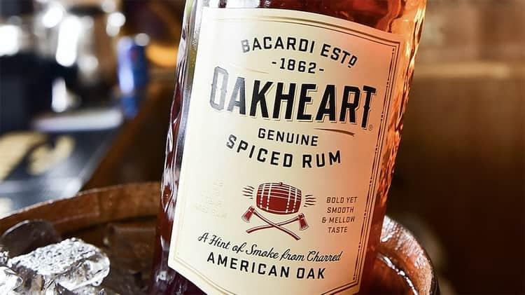 Дегустация oakheart bacardi