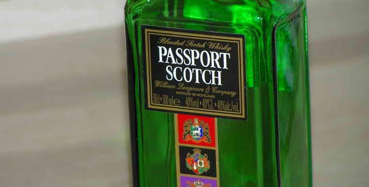 Виски Passport Scotch (Паспорт Скотч) и его особенности