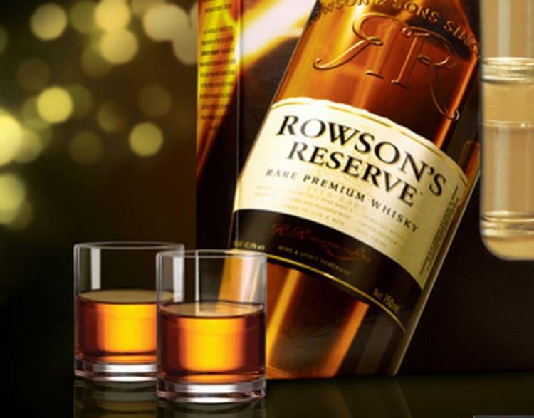 Как подавать напиток висковый роусонс резерв