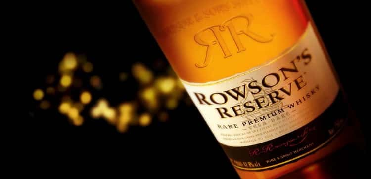 Обзор виски rowson s reserve