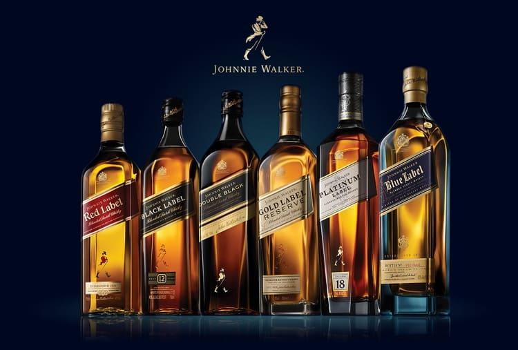 обзор виски johnnie walker gold label reserve и других видов этого напитка