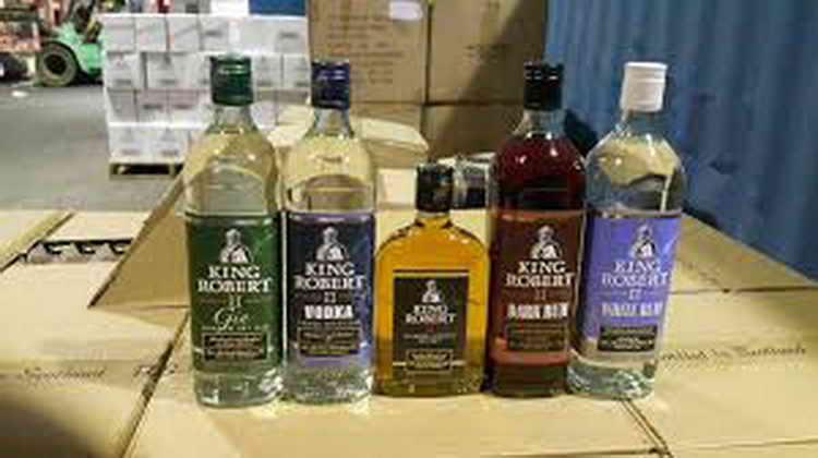 виски king robert ii
