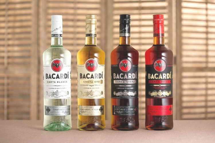 Другие виды рома Bacardi