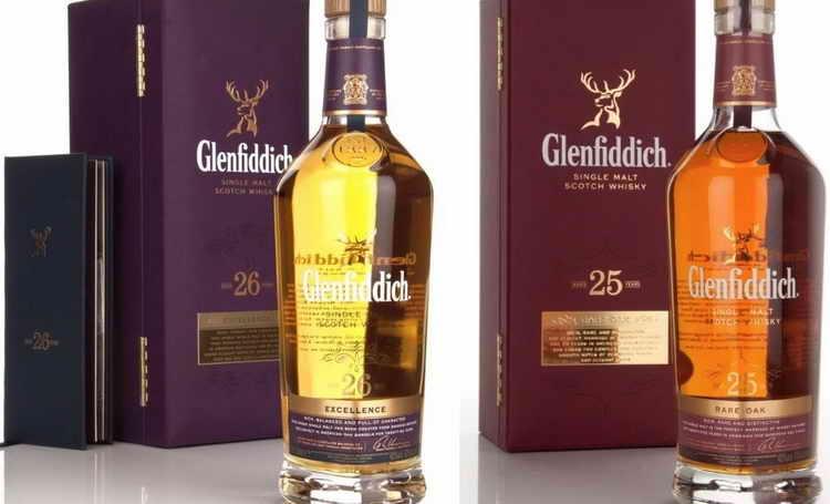 Виски Гленфиддик 25 лет