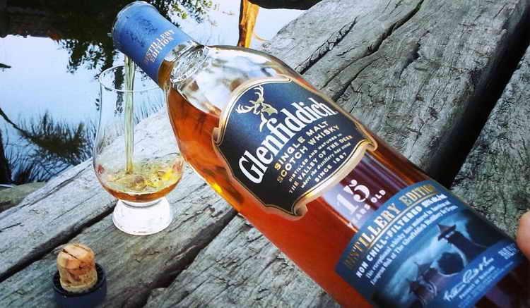Виски Гленфиддик Distillery Edition 15 лет