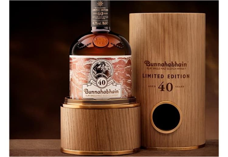 Bunnahabhain Aged 40 years Limited Edition