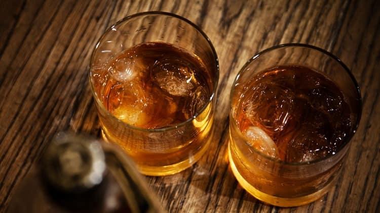 правильная подача виски никка из японии