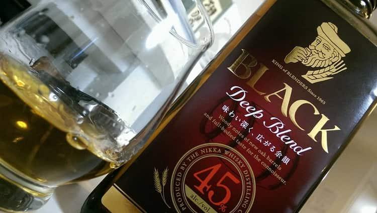 как правильно подавать японский виски nikka black clear