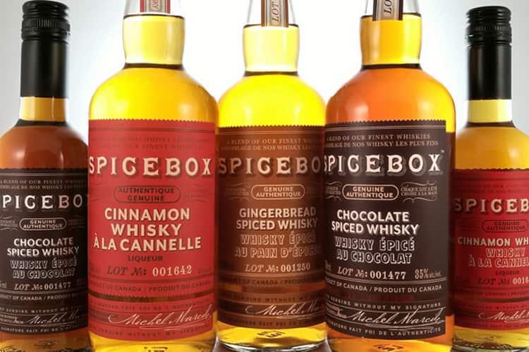 Какие еще виды виски spicebox существуют, кроме chocolate
