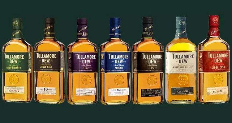 Какие виды напитка кроме whiskey irish tullamore dew
