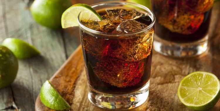 Рецепты коктейлей на основе виски с колой
