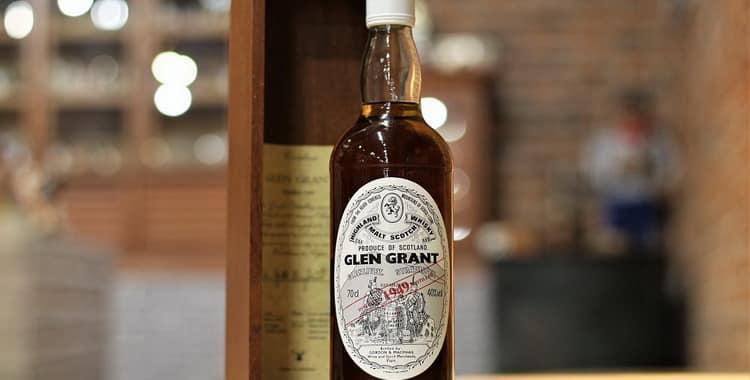 Обзор виски Glen Grant (Глен Грант)