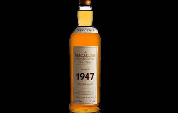 Макаллан преобладает среди дорогих виски.