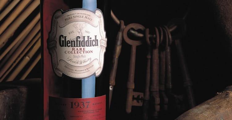Единственная в мире бутылка Гленфиддиша находится в частной коллекции.