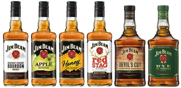 Виски Джим Бим производится под наименованием бурбон.