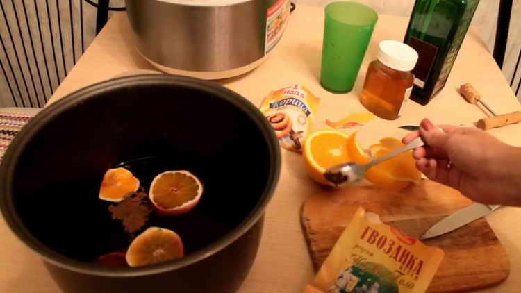 глинтвейн рецепт приготовления в мультиварке