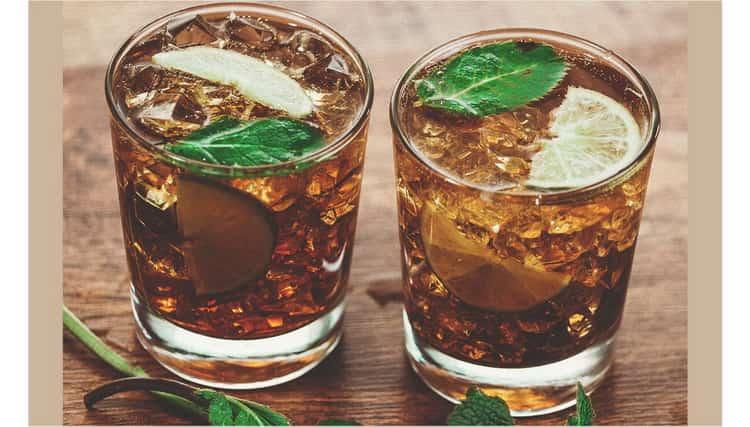 коктейли из Jim Beam Honey