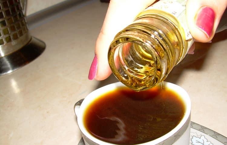 Это самый простой рецепт кофе с коньяком.