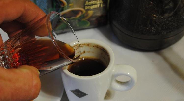 Это самый простой способ приготовить кофе с ромом.