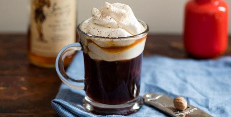Кофе с ромом в домашних условиях
