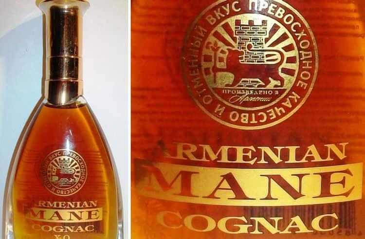 Выбирая коньяк Mane, обращайте внимание на надписи на бутылке, которые сделаны действительно нестираемыми чернилами.