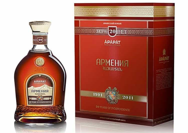 Коньяк Армения это тоже продукция ЕКЗ.