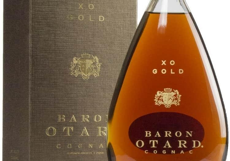 В аромате коньяка baron otard gold xo можно уловить нотки ореха и фиалки.