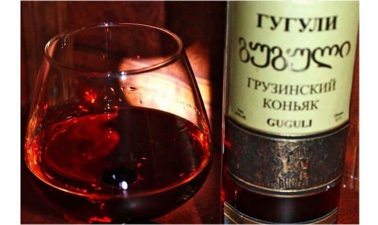 Обзор на марки грузинских коньяков