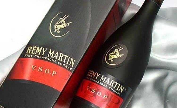 В состав коньяка remy martin vsop вошли более 50-ти видов спиртов.