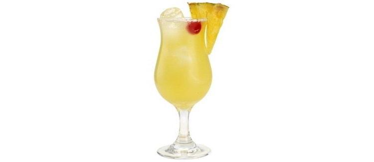 Детальный рецепт приготовления коктейля малибу с ананасовым соком